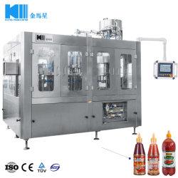 工場農産物の料理油および味ソース詰物およびシーリング機械