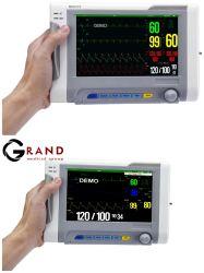 """Портативный 7,4-дюймовый цветной дисплей TFT медицинских Multi-Parameter Хирургическая система мониторинга высокое разрешение модульный прикроватного монитора"""" монитор пациента"""