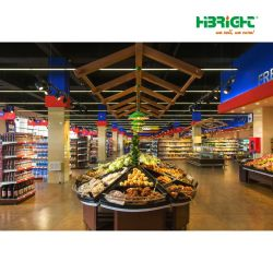 Una parada de la solución comercial para la apertura de un supermercado