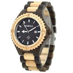 Таким образом световой руки аналоговые кварцевые часы на запястье для мужчин