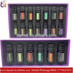 Óleo Essencial de venda quente Kits para aplicação de Aromaterapia