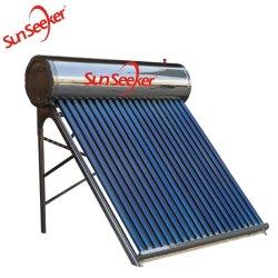 200L Non-Pressure compacto sistema de aquecedor solar de água