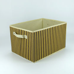 Складные постельное белье съемные главная коробка для хранения одежды с двумя ручками