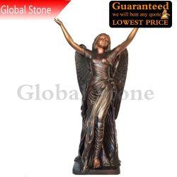 大きい青銅色のダンサーの天使の彫刻(GSBR-149)