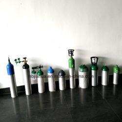 Haute qualité 6.3L 10L 4L 40L Al sans soudure en acier médicaux industrielle de l'Argon/CO2/gaz/air/cylindre d'oxygène