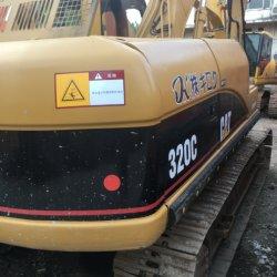 Utilisé Caterpillar Cat320c en bon état de l'excavateur