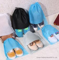Calçado sacos para roupa suja não tecidos sacos para roupa suja com PVC