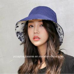 女性余暇のバケツの帽子、方法バケツの帽子