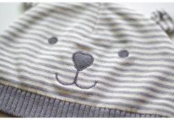 Bébé d'hiver de tricot chaud Hat Infant Toddler Kid Crochet coton Beanie charmant Cap
