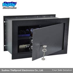Una protección sólida caja de seguridad de la pared oculto