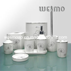 Salle de bain en porcelaine Top-Grade coordonnées (WBC0576B)