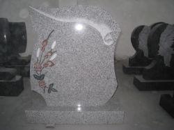 墓碑または墓石または記念碑または敷石かフロアーリングおよび壁に使用する安く、普及した中国人G603の灰色の花こう岩