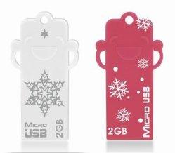 De populaire Aandrijving van de Gift USB van Kerstmis