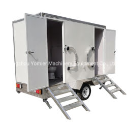 2020 Nuevo Diseño remolcable el cuarto de baño Wc portátil móvil Caravana remolque