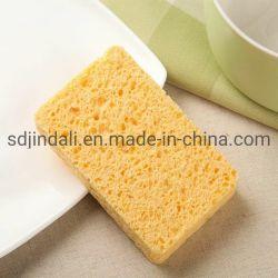 Limpieza de Cocina Lavadora una esponja de celulosa Scrub con estropajos