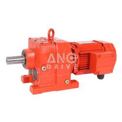 R/RF/RM/Rx/Rxfインライン同軸シャフト2/3stageの螺旋形のギヤボックスの変速機