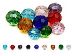 Barato Esferas de vidro cristal redondos coloridos para bricolagem