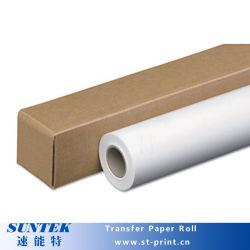 Inyección de tinta de gran formato de 192 gramos de papel de transferencia de calor para la tela de color oscuro