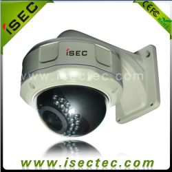 Objectif varifocale Vandal-Proof étanche Caméra dôme IR 25m, 650TVL 1/3 pouce camera CCD couleur Sony (IC-LDMVW25-ASQ)