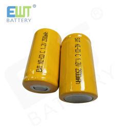 заводская цена 1,2V NiCd C размер 2500Мач для сменный аккумулятор