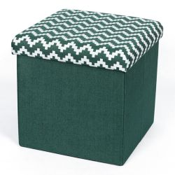 [نوبّي] [مولتيفونكأيشن] ثني قطر وكتّان أريكة كرسيّ مختبر قماش فنية يجلس [أتّومن] تخزين كرسيّ مختبر صندوق