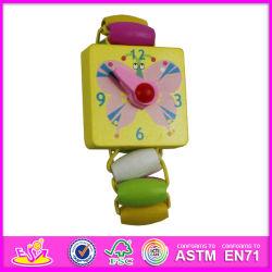 2014 جديدة خشبيّة لعبة ساعة, الشعبيّة خشبيّة جدي لعبة ساعة أكثر, نمو لعبة ساعة, [هيغقوليتي] خشبيّة لعبة ساعة [و08ك016]