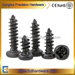 La norme DIN7981 Cross métal vis autotaraudeuses à tête cylindrique M0.8 fixations M1 M1.6 M1.2