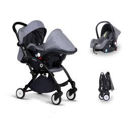 Auf lager Doona Säuglingsausdrücker-/Car-Sitz des auto-Sitz-u. Baby-Spaziergänger-Arbeitsweg-Systems-/Baby Reiten-Entlang Vorstand