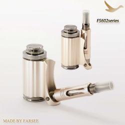 Nueva Alta Calidad de plegado de oro de metal del tubo electrónico portátil de embalaje Caja de regalo E-pipe (FS602)
