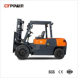 Formación gratuita& camión de la instalación de la batería de gas y diesel/gas/gasolina/Mini Carretilla elevadora eléctrica con 4 ton/4.5ton/5ton.