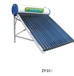 chauffe-eau solaire Non-Pressure Compact (aluminium ZY-1C)