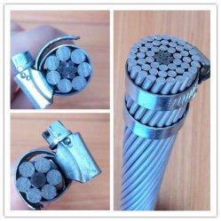 Conducteur en aluminium renforcé en acier nu ACSR utilisé comme frais généraux Frais généraux de la transmission