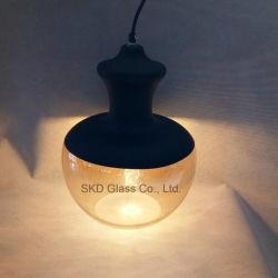 Mini moderne SKD Poignée de commande de la lumière avec cône en verre de soufflage de l'ombre réglable Poignée de commande de l'éclairage contemporain pour l'île de cuisine salle à manger Salon Bar
