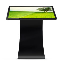 43inch Floor Standing Full Hd Digital Signage Lcd Display Player Information Touch Screen Kiosk Network Advertising