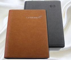 Высокое качество учебы книг персонализированных Кожа шейки ноутбуков