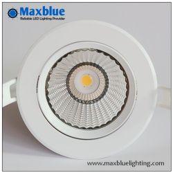 6 Вт/9W встраиваемый потолочный светильник светодиодная лампа с регулируемой яркостью отверстие 70 мм