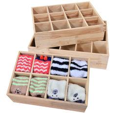Caja de madera para recibir en el cajón