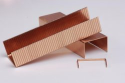 12f Series Copper Carton Fastening Nails with CE