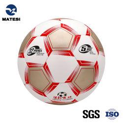 Matex tamaño oficial 5/4/3/3/2/1 para interior/exterior de promoción de juguete de goma suave superficie balón de fútbol con CE