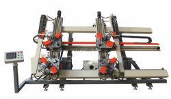 Cnc-Vertikale vier Punkt-Eckquetschverbindenmaschinen-Aluminiumbildenmaschine