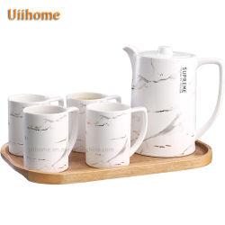 Juego de té de cerámica café café de porcelana vajilla juego de té cena Don