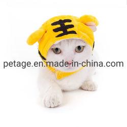 연약한 귀여운 고양이 모자 복장 Halloween 개 훈장 애완 동물 부속품