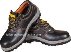 Echt Leer met Schoen van de Veiligheid van Pu de Enige/de Schoen van het Werk/het Schoeisel van de Veiligheid