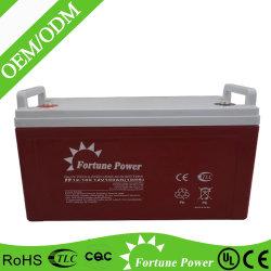Gel profondo 12V100ah della batteria dell'invertitore del ciclo della batteria eccellente del condensatore