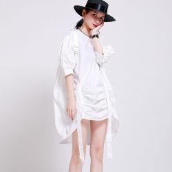بنات قوّيّة [لوليتا] ثوب إبزيم قابل للتعديل ثوب عرضيّ