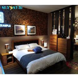 Промышленные стиле декоративные настенные панели обои для отеля оформлены на стене