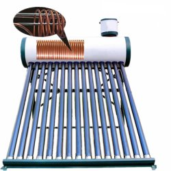 bobina de cobre del intercambiador de calor Calefacción calentador de agua solar tubo de vacío Pre