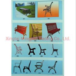 Straßen-Garten-Freizeit-Stuhl-europäische Art-duktiles Eisen