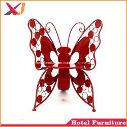 El restaurante del hotel imitado en madera silla de comedor de banquetes de la mariposa