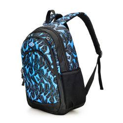 デザインすべての印刷されたポリエステルメッセンジャーのラップトップ袋、旅行バックパック、トロリー防水コンピュータ袋を卸しでカスタマイズしなさい